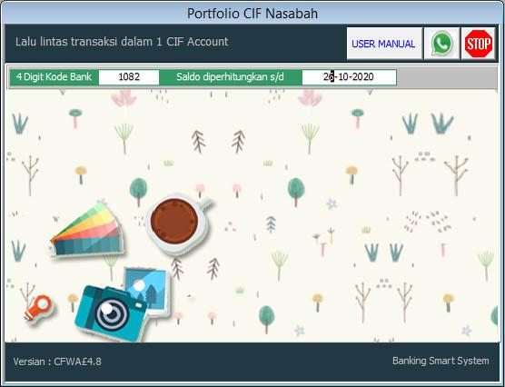 Portofolio CIF Nasabah