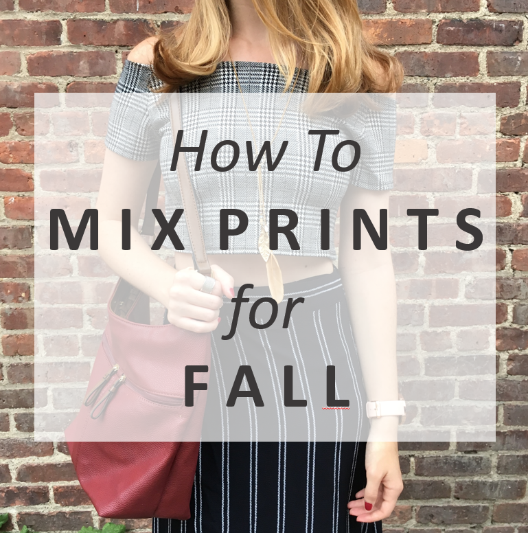 How to Mix Prints: Feat. Striped Maxi Wrap Skirt by Zaful