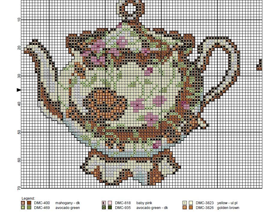 Wendy's Free Cross Stitch Patterns: Teapots Cross Stitch