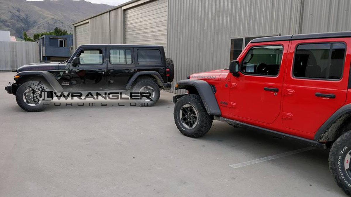 2018 jeep wrangler unlimited rubicon spotted undisguised carscoops. Black Bedroom Furniture Sets. Home Design Ideas
