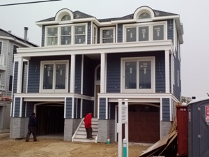 Building a custom home on long beach island