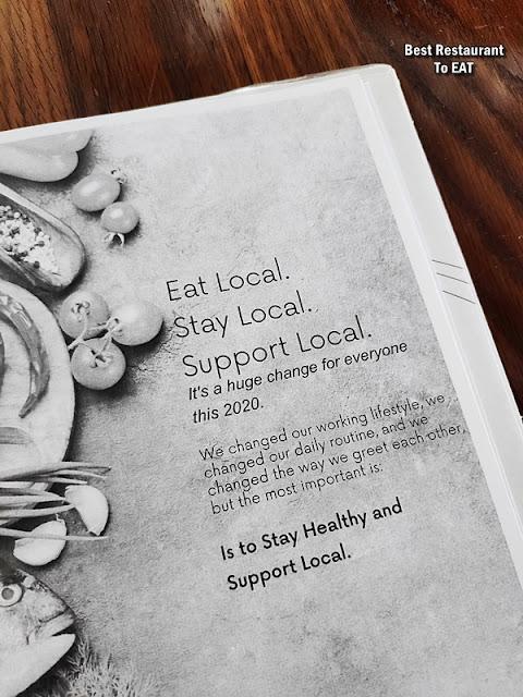Passione Ristorante Italiano New Menu 2020 - Eat Local Stay Local Support Local