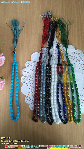 Tasbih Batu Rose Queena