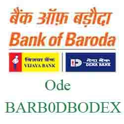 New IFSC Code Dena Bank of Baroda Ode BARB0DBODEX