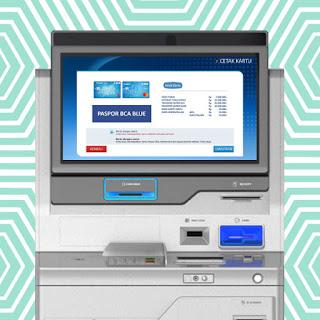 Cara Cetak Kartu ATM BCA Sendiri dengan Mesin CS Digital
