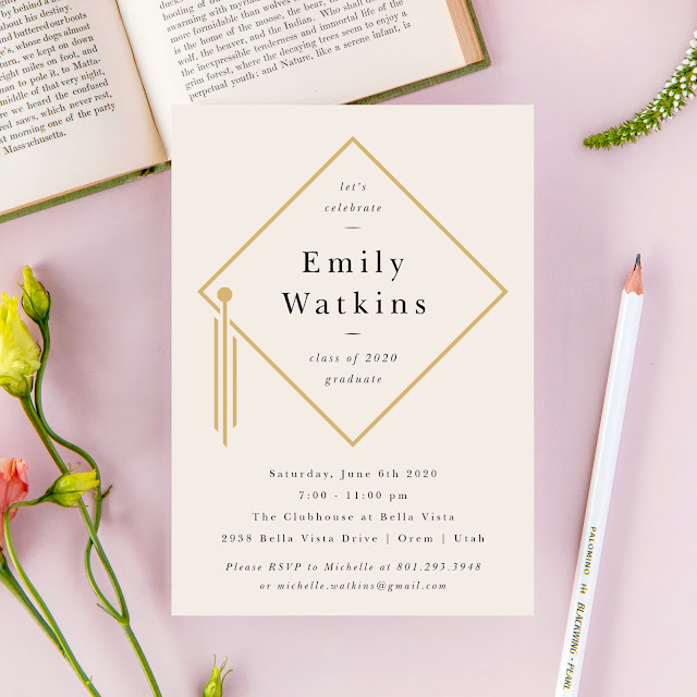 Basic Invite graduation invitations