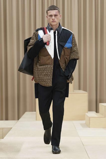 Burberry  moda masculina Outono Inverno 2021