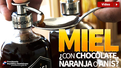 VIDEO: Miel con chocolate, naranja o anís