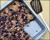Easy Baked Oatmeal with Blueberries & Bananas