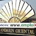 فندق مندرين أوريونطال مراكش توظيف 7 مناصب بمجالات مختلفة