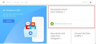 Convert YouTube ke mp4 Menggunakan 4K Video Downloader - 1