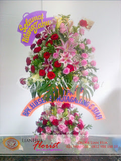 bunga standing flowers, bunga ulang tahun, bunga ucapan pernikahan, bunga ucapan selamat & sukses, congratulations flowers, toko bunga jakarta