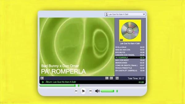 [Lyrics] Bad Bunny & Don Omar - Letra de Pa Romperla & Music Video
