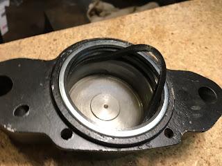 MG Midget Front Brake Callipers rebuild