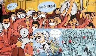 Corona start music with nadi shuddhi
