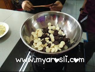 Resepi Cornflakes Nutella