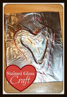 Stained Glass Craft via @MultiTestingMom