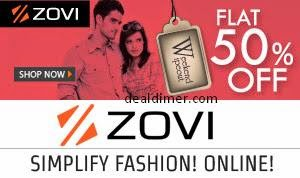 Zovi Clothing & Footwear upto 75% off