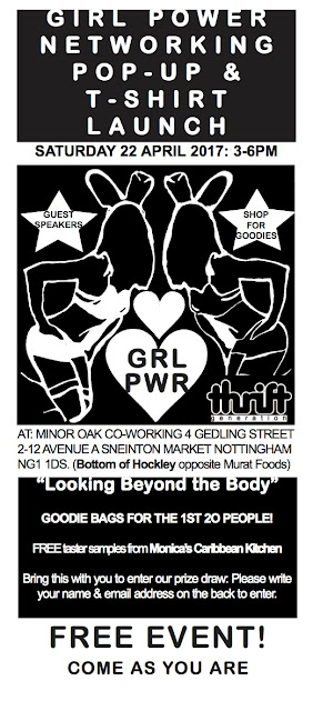 Girl Power Networking Pop-Up & T-Shirt Launch
