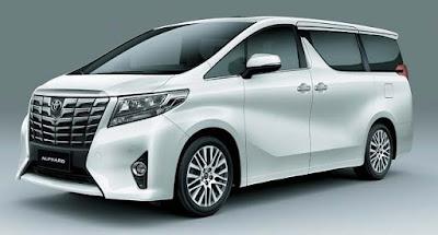 Toyota Alphard  full size MPV