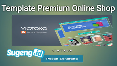 Template premium online shop