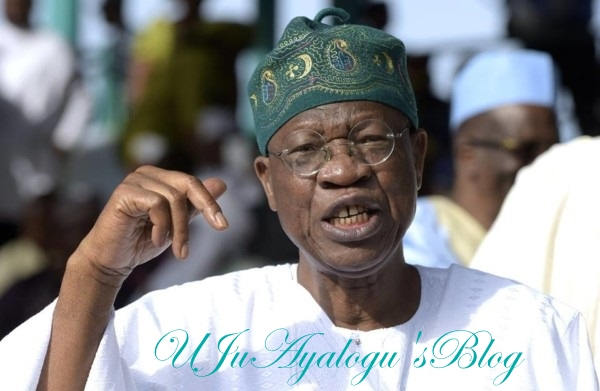 2019 will be walkover for APC – Lai Mohammed