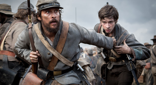 Free State of Jones | Matthew McConaughey no trailer do drama de guerra