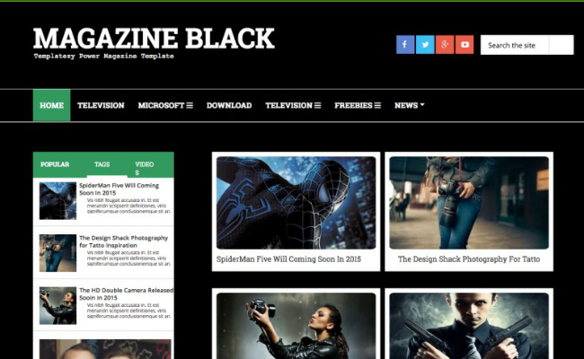 Magazine Black