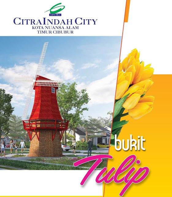 Cluster Bukit TULIP Citra Indah City dipasarkan