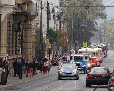 Parada MPK Kraków, ul. Piłsudskiego