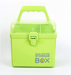 HARISWARUP ENTERPRISE HS-STORE's Plastic First Aid Emergency Medical Kit Box with Compartments, Removable Inner Tray and Carrying Handle -online Trade DD