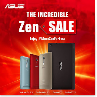 MoreZenForLess, ASUS Incredible Zen Sale