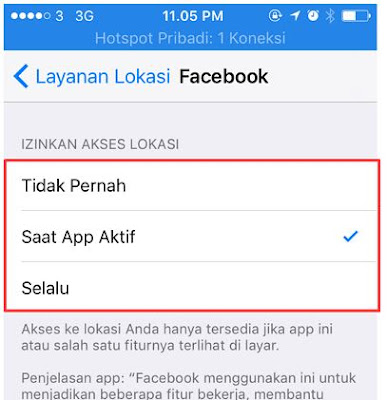 Cara Mudah Mengaktifkan Lokasi di Hp iPhone