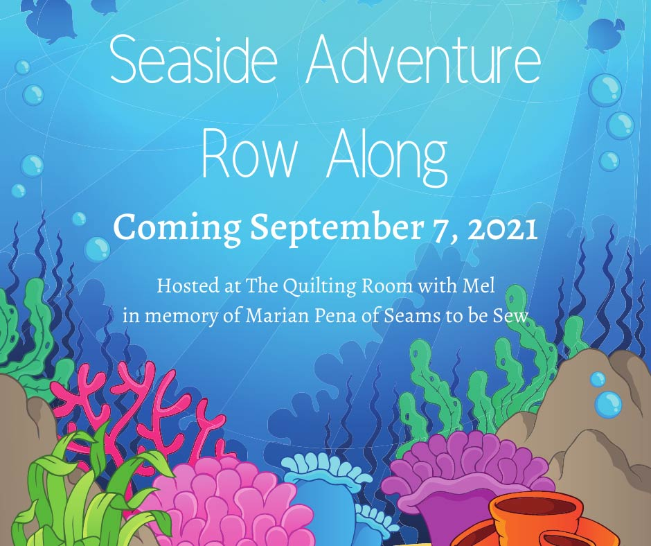 Join the fun of the Seaside Adventure Quilt Row Along