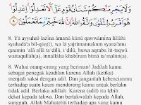 Tajwid Surat Al Maidah Ayat 8