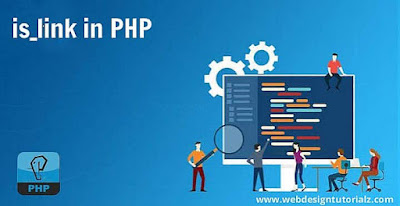 PHP is_link() Function