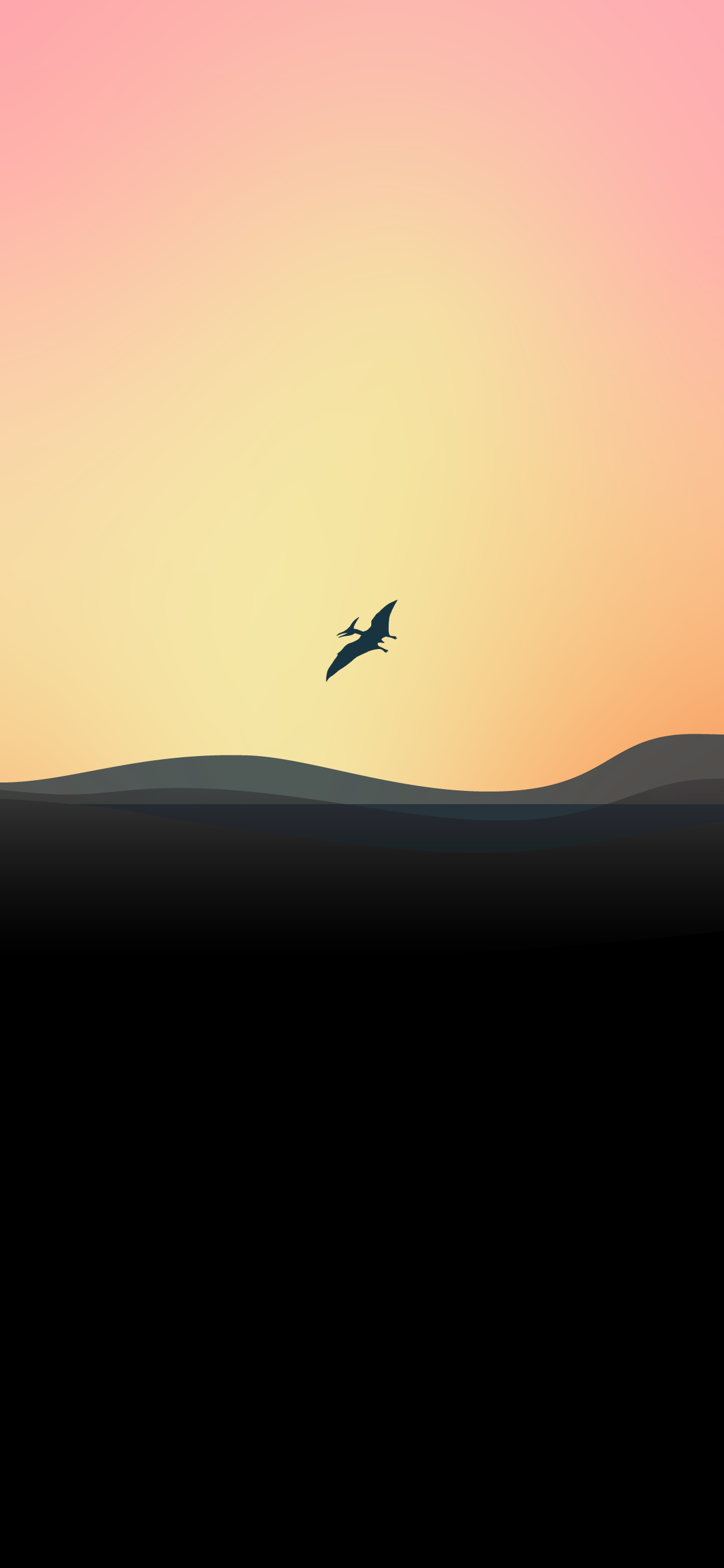 pterodactyl flying dinosaur background wallpaper minimalist for pc laptop macbook mac