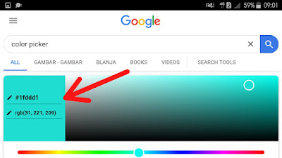 Color picker google
