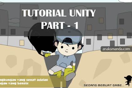 Tutorial Unity, Membuat Splash Screen Game Android (Part 1 : Pengaturan Scene)