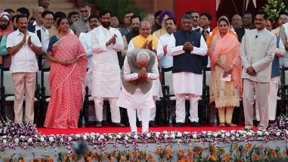 मोदी के किस मंत्री के पास कौन सा मंत्रालय, सभी 57 मंत्रियों को मिले विभागों की पूरी लिस्ट