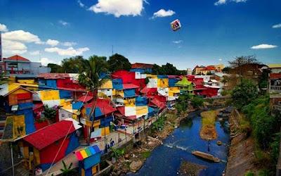 Kampung Warna Warni9 di Jogja