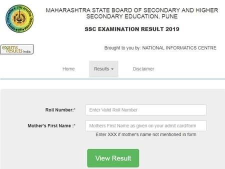 Maharashtra SSC Result 2019 Released for Class 10th Result