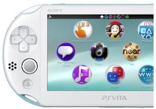 PS Vita Putih keluaran Sony