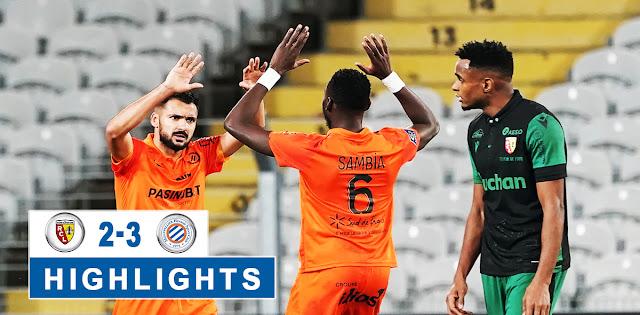 Lens vs Montpellier – Highlights