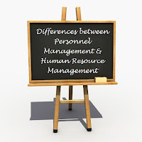 Define the terms Personnel Management and Human Resource Management. How Personnel Management is different from Human Resource Management?