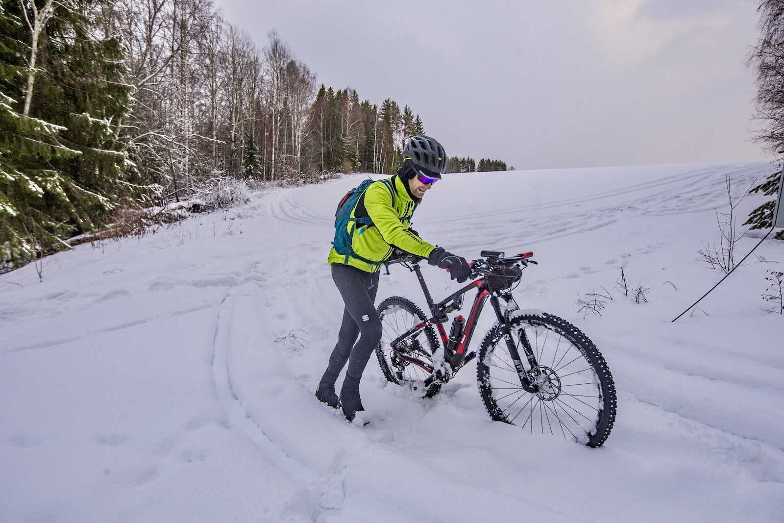 Winter Cycling Clothing Tim Wiggins