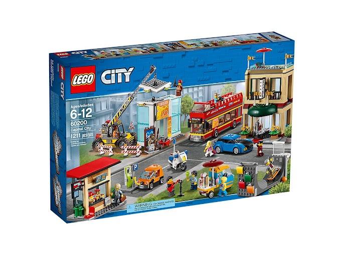 Những điều thú vị của LEGO CITY