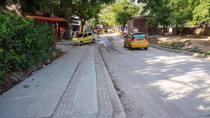 En un 60%, avanza el proyecto de Malla Vial en El Pando