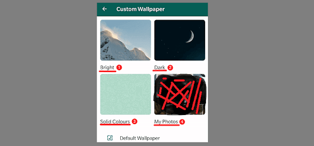 Beautify Your WhatsApp Chats With Custom Wallpapers