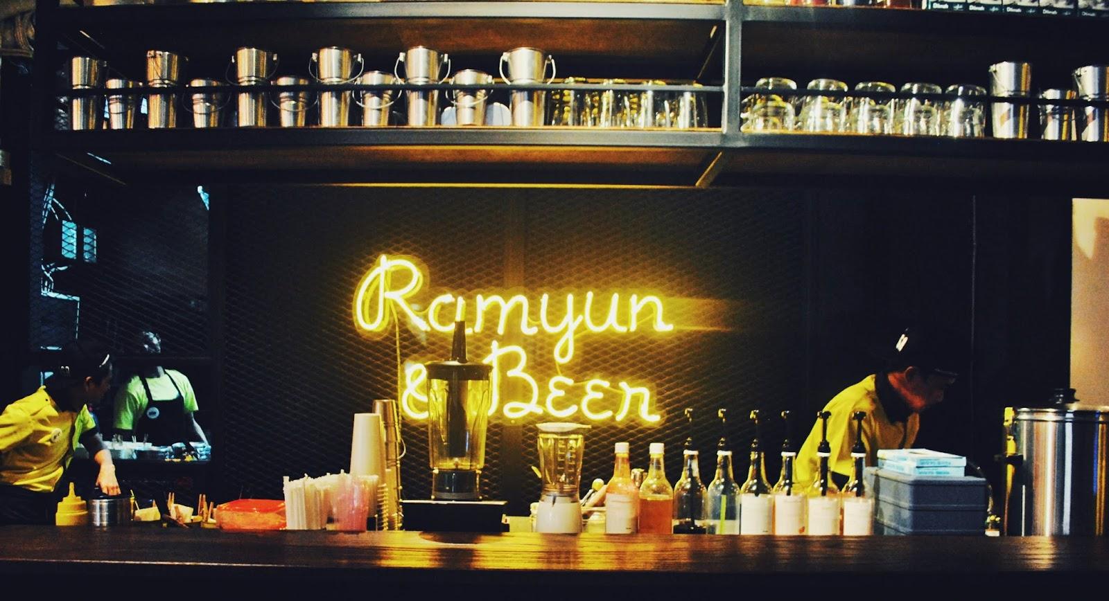 Sinsa Ramyun Kemang : Kuning-kuning Gemay - Bar